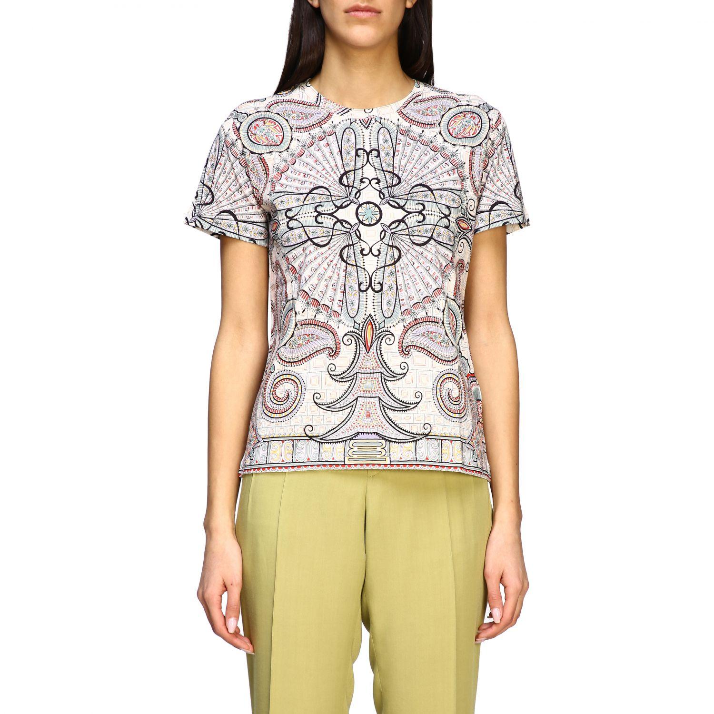 Etro Shirt mit Paisley-Print schwarz 1