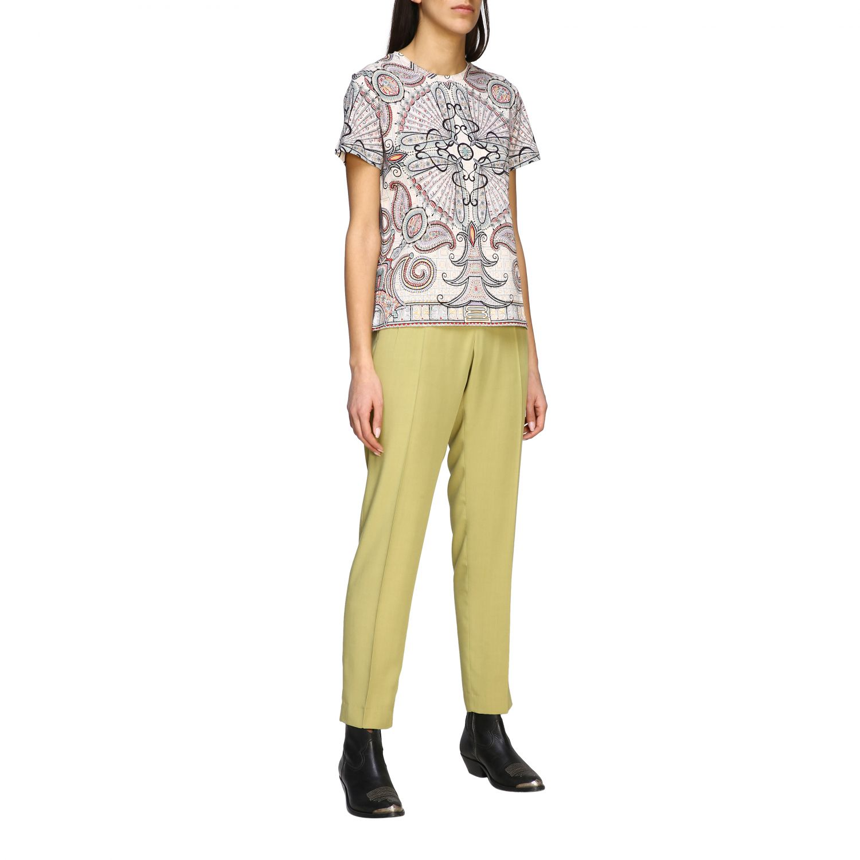 Etro Shirt mit Paisley-Print schwarz 2