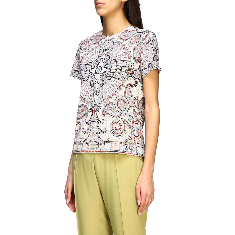 Etro Shirt mit Paisley-Print schwarz 4