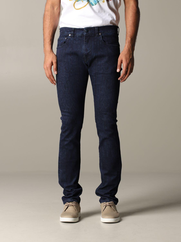 Jeans homme Etro bleu 1