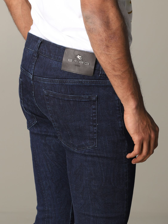 Jeans homme Etro bleu 5