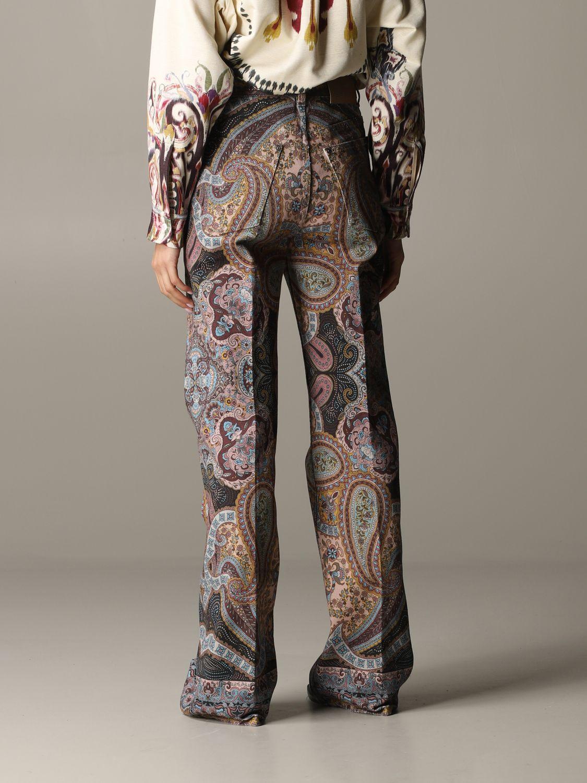 Trousers women Etro brown 3