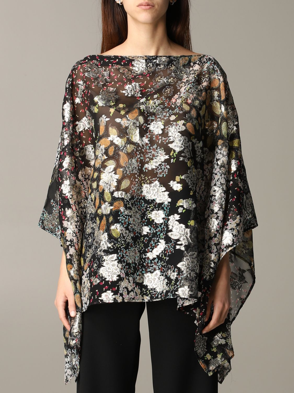 Etro 金银丝花卉印花罩衫上衣 彩色 1