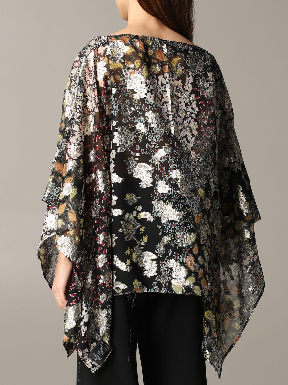 Etro 金银丝花卉印花罩衫上衣 彩色 3