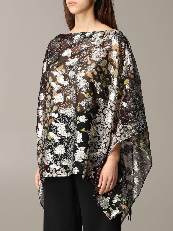 Etro 金银丝花卉印花罩衫上衣 彩色 4