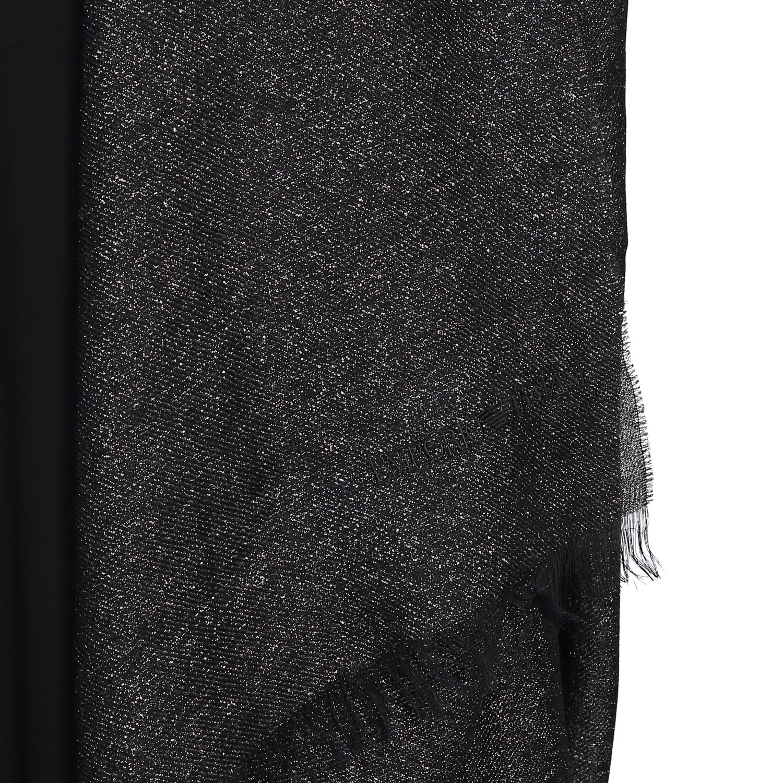 écharpe femme Emporio Armani noir 3