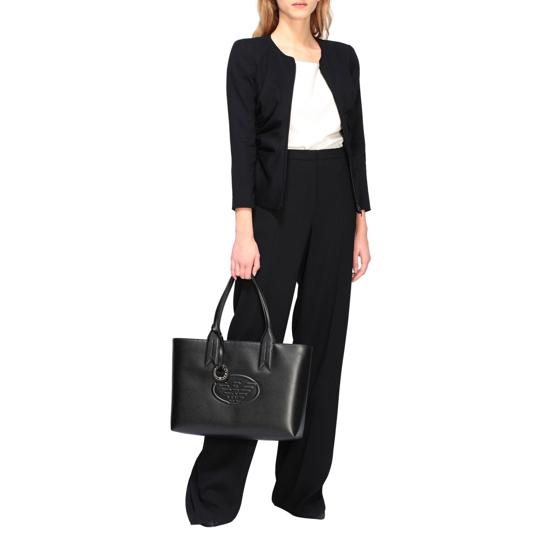 Shoulder bag women Emporio Armani black 2