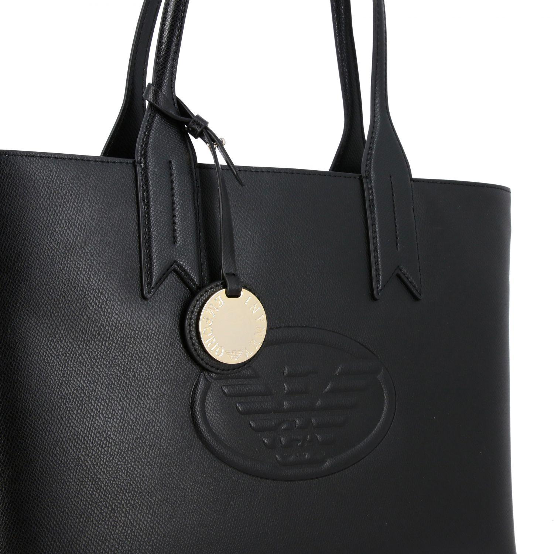 Shoulder bag women Emporio Armani black 4