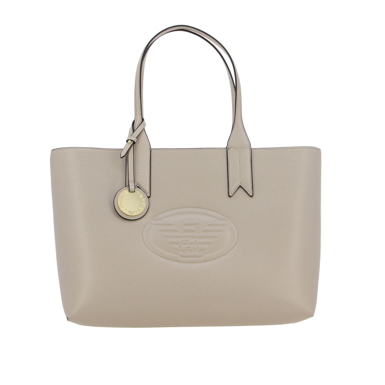 Shoulder bag women Emporio Armani dove grey 1