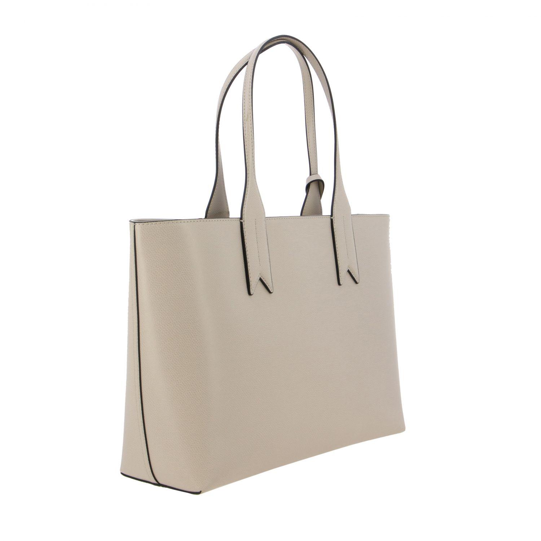 Shoulder bag women Emporio Armani dove grey 3