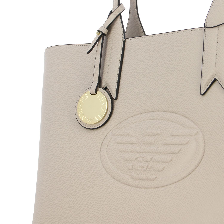 Shoulder bag women Emporio Armani dove grey 4