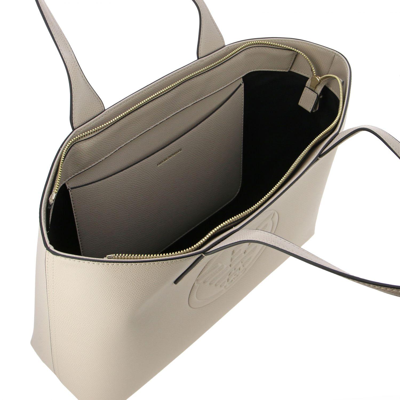 Shoulder bag women Emporio Armani dove grey 5
