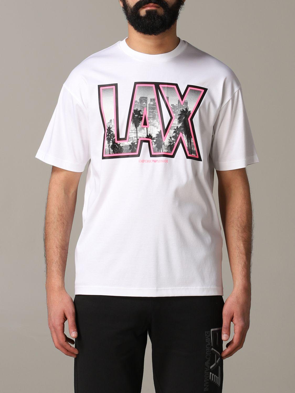 T-shirt Emporio Armani: T-shirt men Emporio Armani white 1