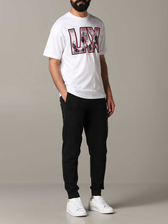 T-shirt Emporio Armani: T-shirt men Emporio Armani white 2