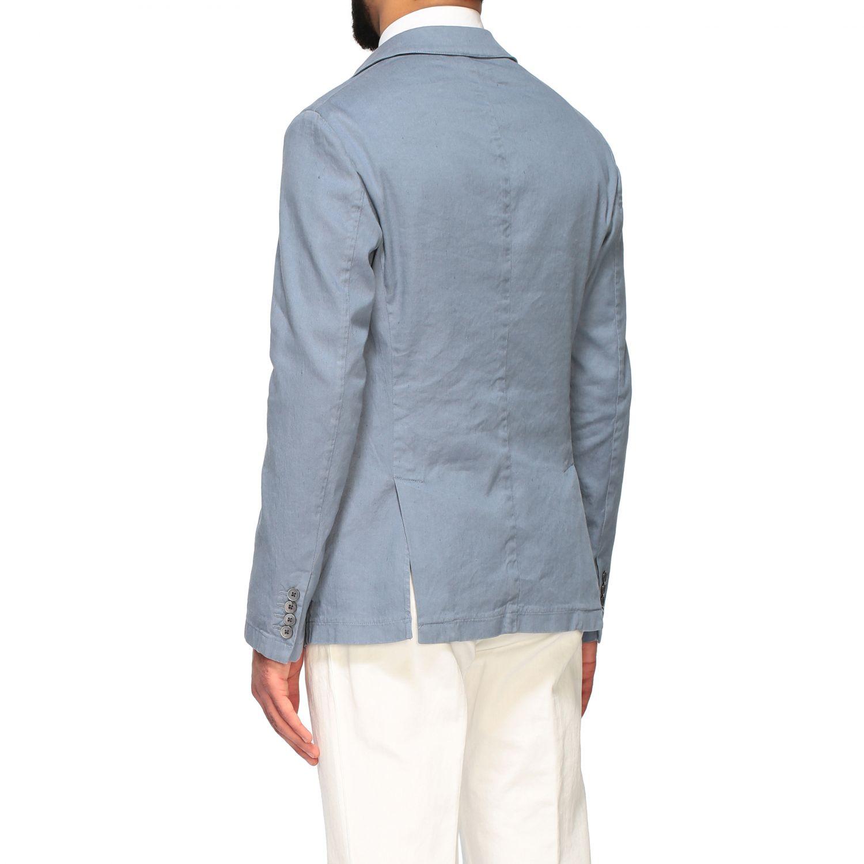 Blazer Emporio Armani: Emporio Armani Jacke aus Gabardine hellblau 3