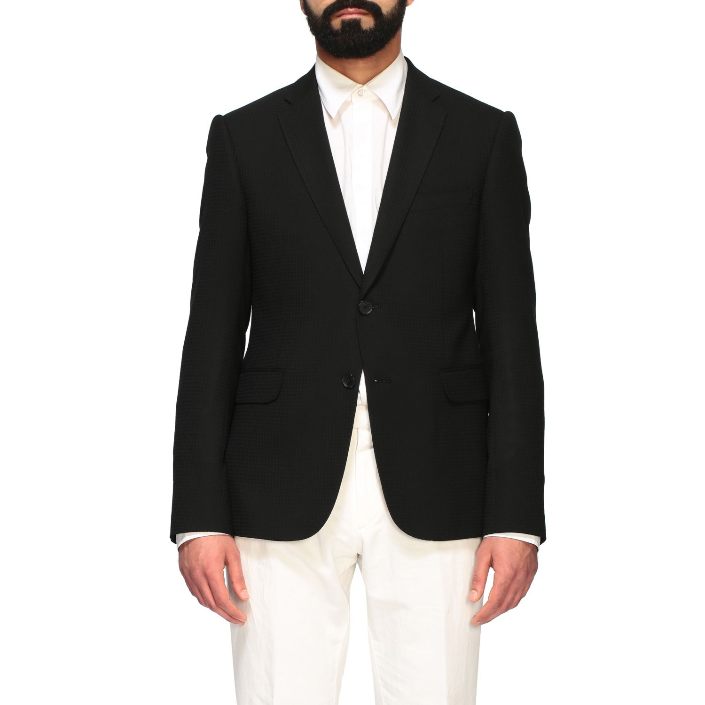 Blazer Emporio Armani: Emporio Armani men blazer black 1