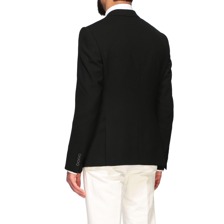Blazer Emporio Armani: Emporio Armani men blazer black 3