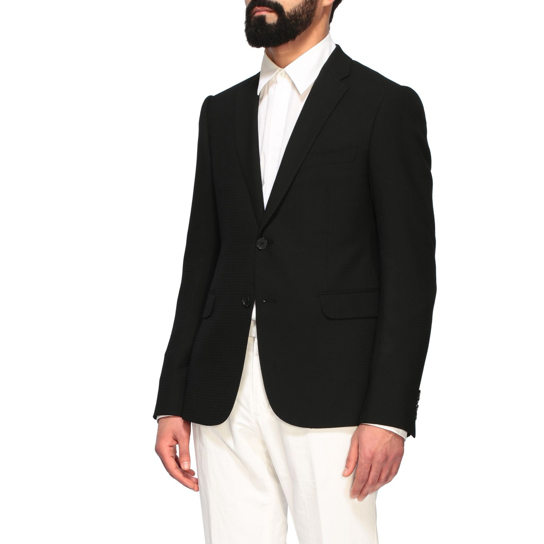 Blazer Emporio Armani: Emporio Armani men blazer black 4