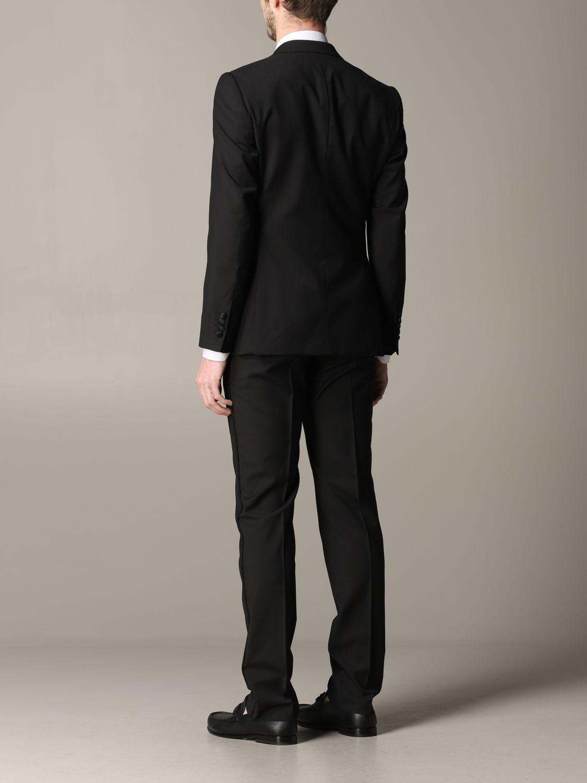Suit Emporio Armani: Emporio Armani tuxedo suit in wool 220gr drop 7 black 3