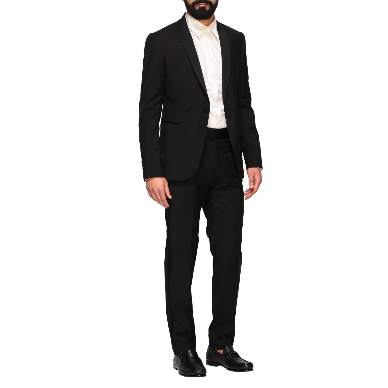 Suit Emporio Armani: Emporio Armani tuxedo suit in wool 220gr black 2