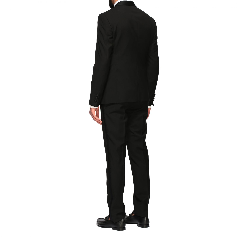 Suit Emporio Armani: Emporio Armani tuxedo suit in wool 220gr black 3