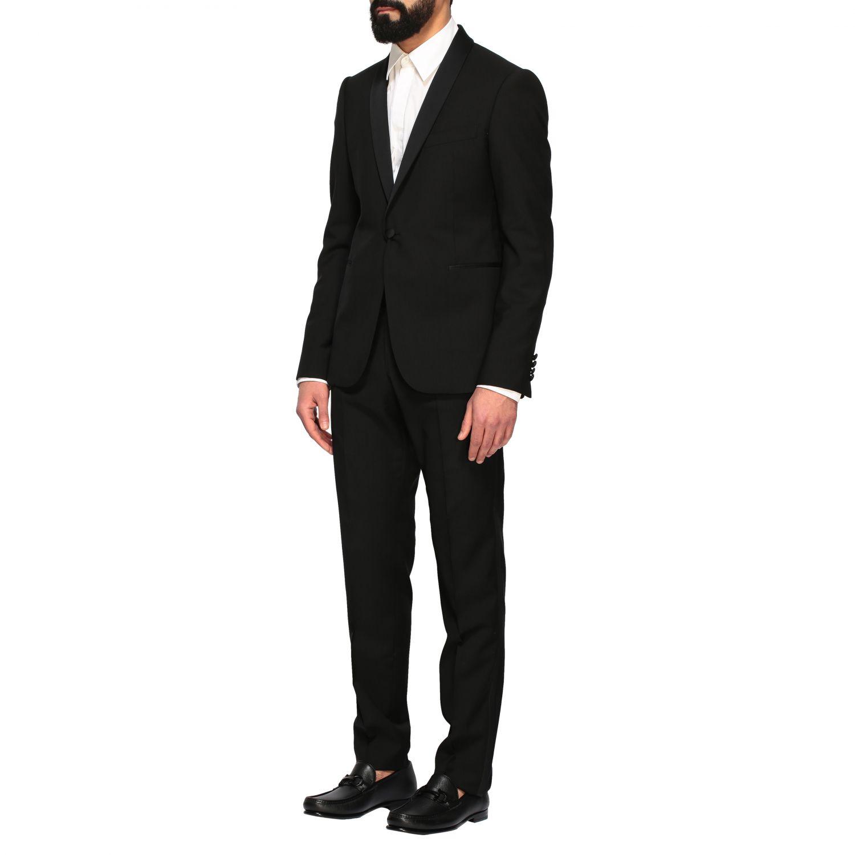 Suit Emporio Armani: Emporio Armani tuxedo suit in wool 220gr black 4