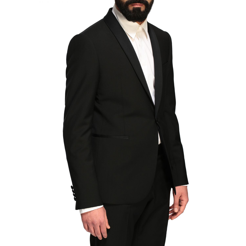 Suit Emporio Armani: Emporio Armani tuxedo suit in wool 220gr black 5