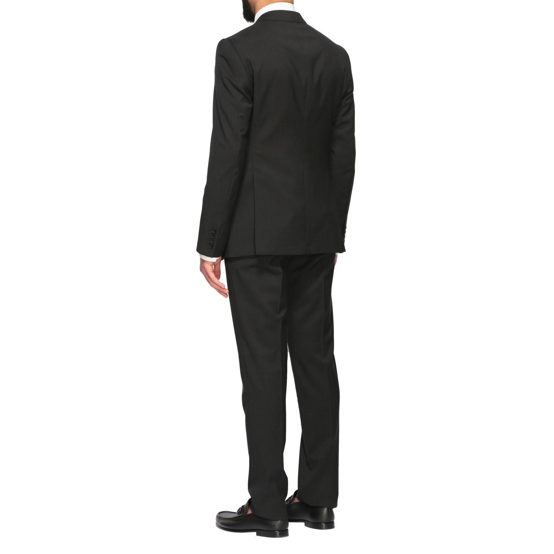 Suit Emporio Armani: Emporio Armani wool suit 213gr drop 7 black 3