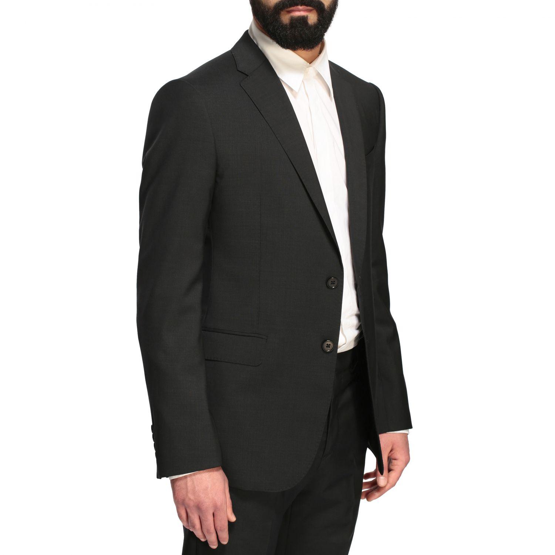 Suit Emporio Armani: Emporio Armani wool suit 213gr drop 7 black 5