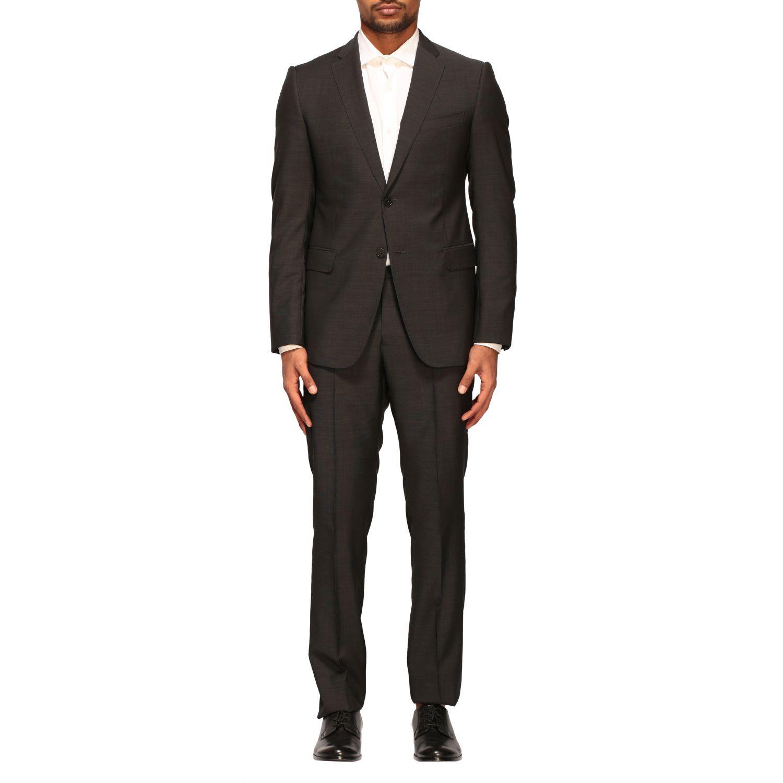 Anzug Emporio Armani: Emporio Armani Anzug aus Wolle 213gr drop 7 charcoal 1