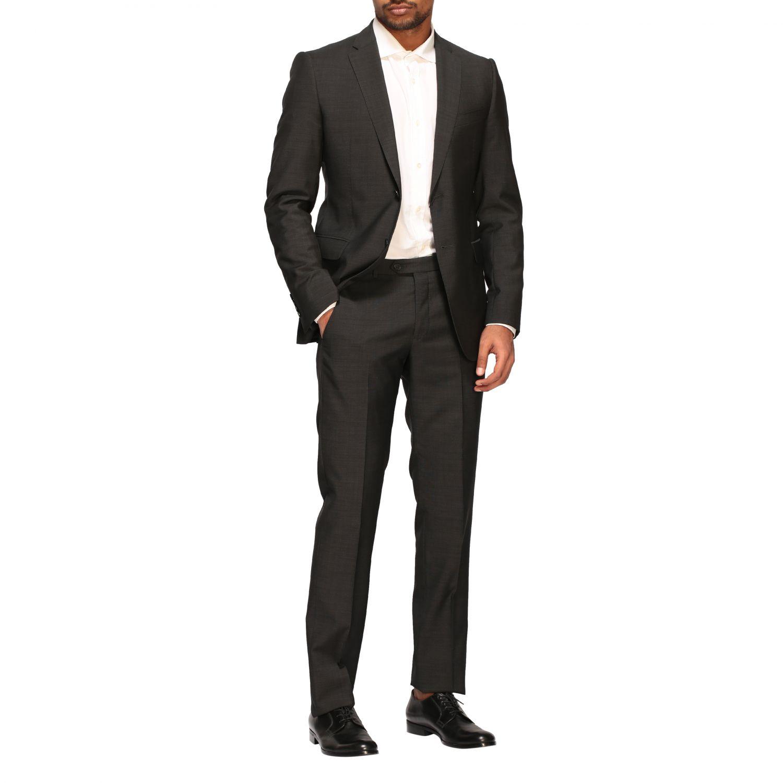 Anzug Emporio Armani: Emporio Armani Anzug aus Wolle 213gr drop 7 charcoal 2