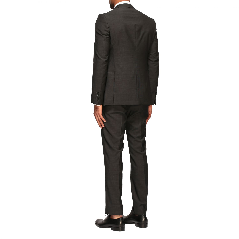 Anzug Emporio Armani: Emporio Armani Anzug aus Wolle 213gr drop 7 charcoal 3