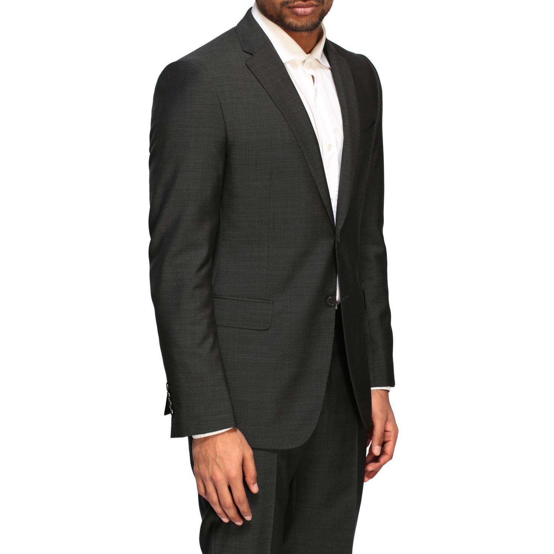 Anzug Emporio Armani: Emporio Armani Anzug aus Wolle 213gr drop 7 charcoal 5