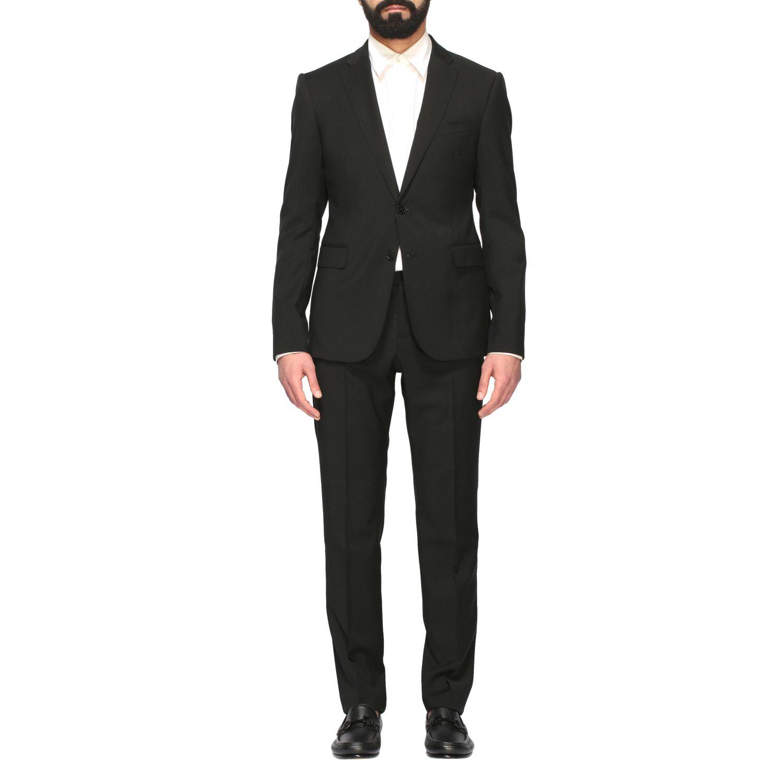 Suit Emporio Armani: Emporio Armani wool suit 220gr drop 8 black 1