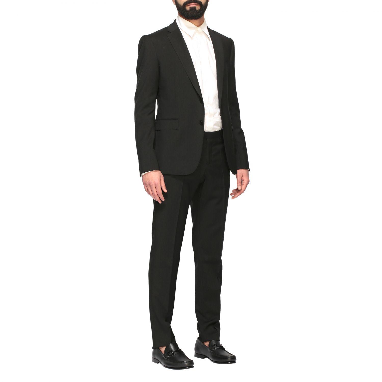 Suit Emporio Armani: Emporio Armani wool suit 220gr drop 8 black 2