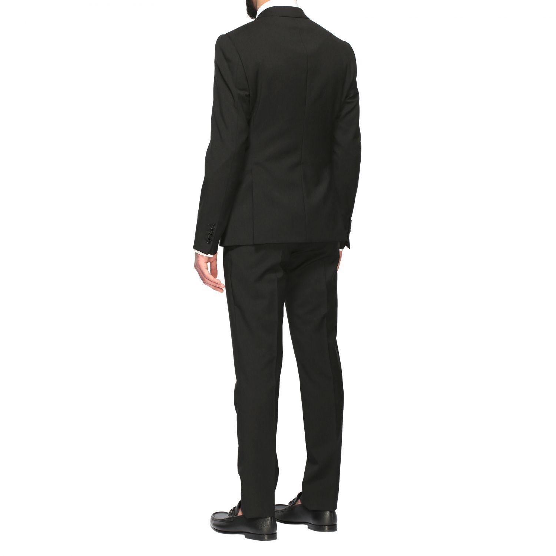 Suit Emporio Armani: Emporio Armani wool suit 220gr drop 8 black 3