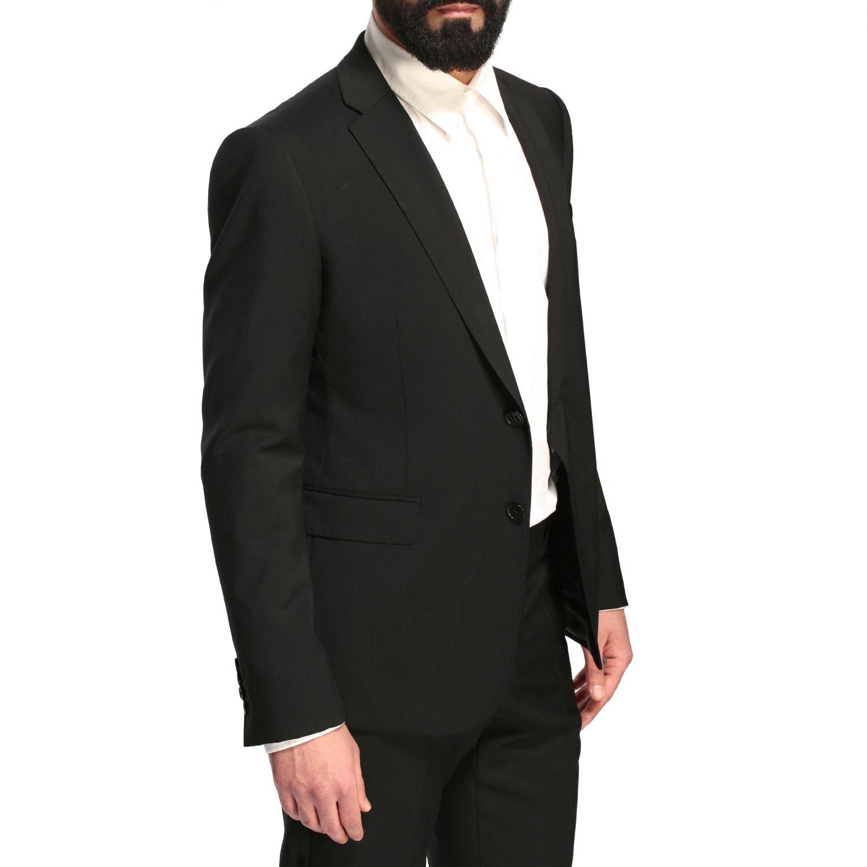 Suit Emporio Armani: Emporio Armani wool suit 220gr drop 8 black 5