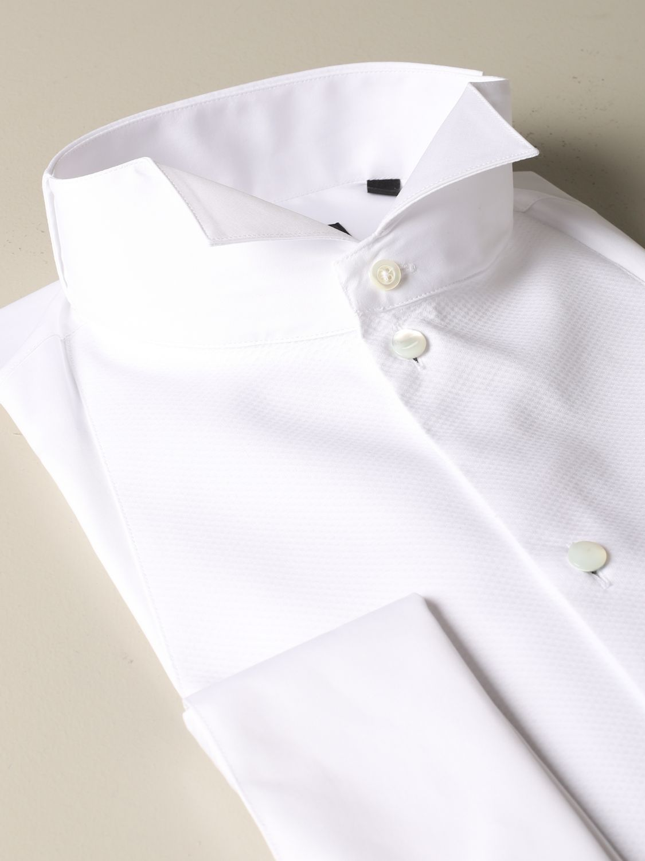 Shirt Emporio Armani: Emporio Armani shirt with wing collar white 2