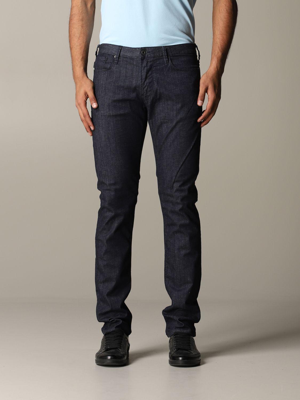 Jeans Emporio Armani: Jeans men Emporio Armani blue 1