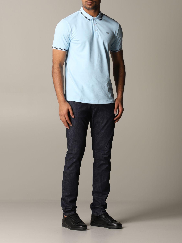 Jeans Emporio Armani: Jeans men Emporio Armani blue 2