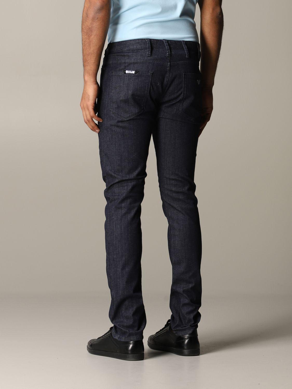 Jeans Emporio Armani: Jeans men Emporio Armani blue 3