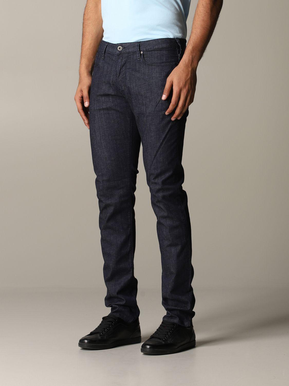Jeans Emporio Armani: Jeans men Emporio Armani blue 4