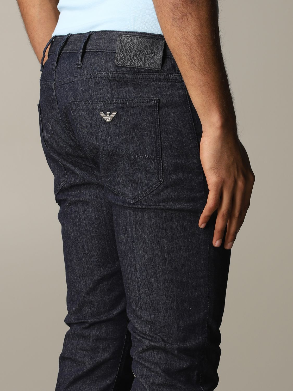 Jeans Emporio Armani: Jeans men Emporio Armani blue 5