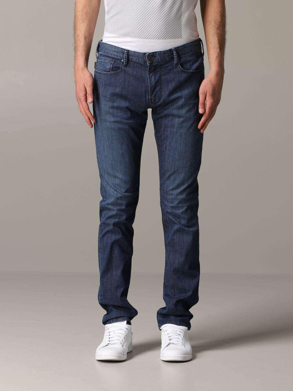 Jeans Emporio Armani: Emporio Armani Slim Fit Jeans denim 1