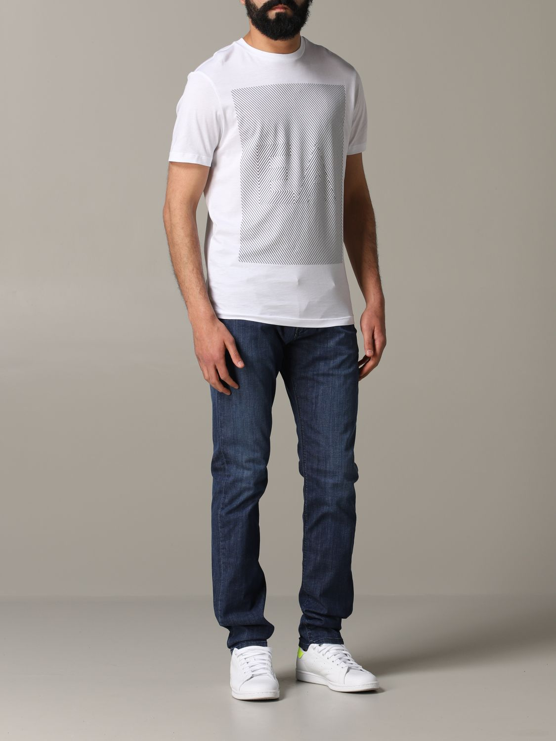 Emporio Armani Slim Fit Jeans denim 2