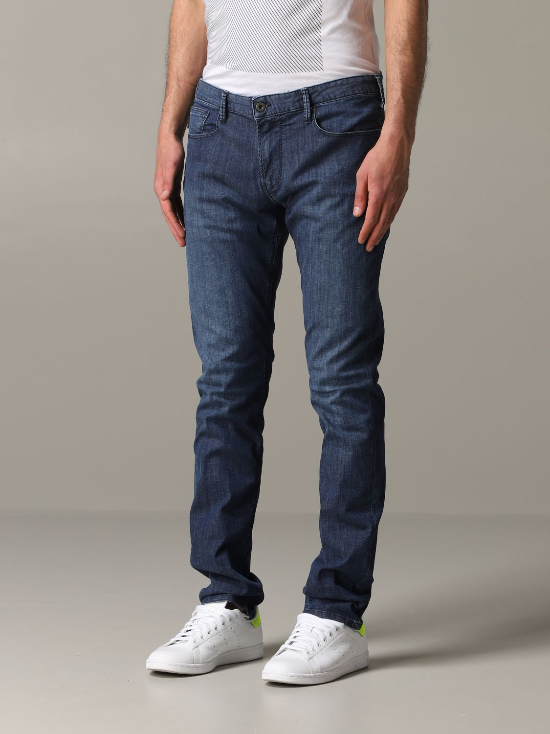 Emporio Armani Slim Fit Jeans denim 4