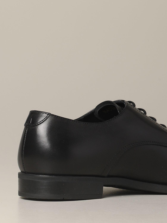 Brogue shoes Emporio Armani: Emporio Armani classic derby in leather black 5