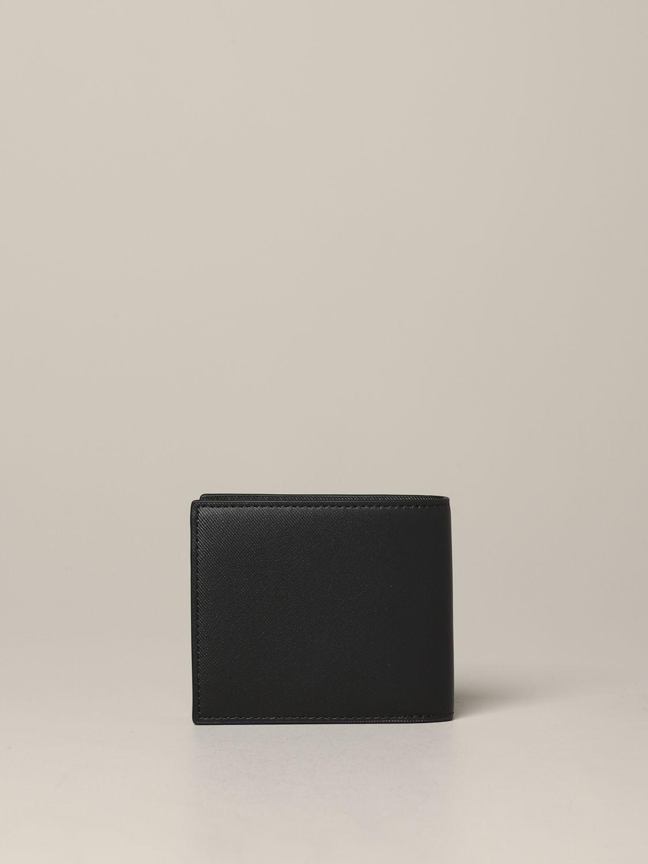 Wallet men Emporio Armani black 3