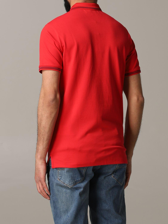 T-Shirt Emporio Armani: Emporio Armani Poloshirt mit Logo rot 3