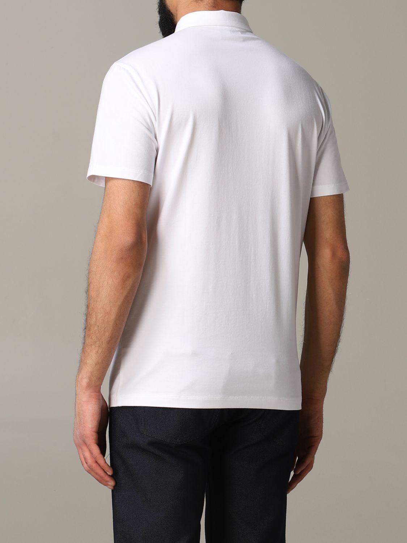 T-Shirt Emporio Armani: Emporio Armani Polo mit Logo weiß 3